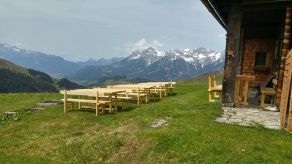 Eröffnung der Jagglhütte am 26. Mai