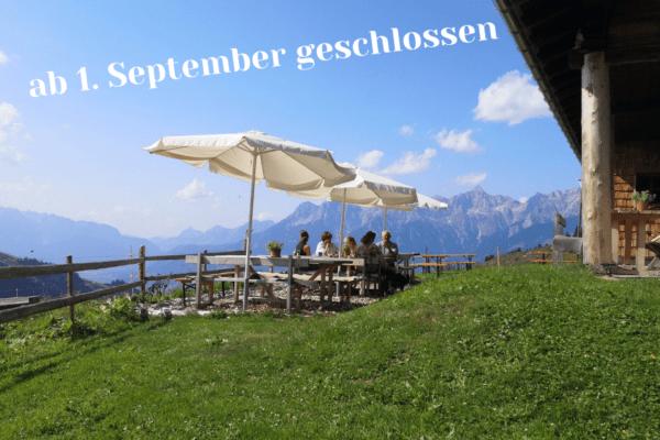 Jagglhütte für 2021 geschlossen